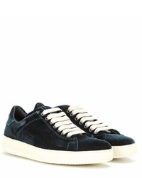 Tom Ford Velvet Sneakers