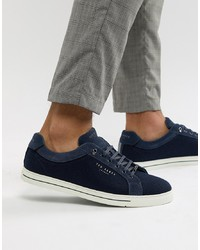 Ted Baker Werill Trainers In Navy