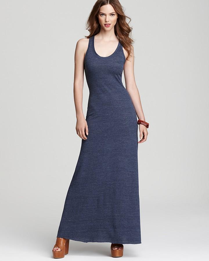Alternative Apparel Alternative Dress Racerback Maxi Dress Where