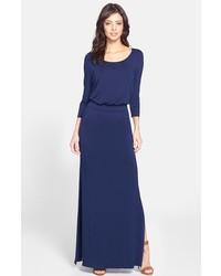 Nordstrom Felicity Coco Back Cutout Jersey Blouson Maxi Dress