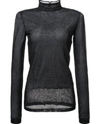Loewe Sheer Mesh Longsleeved T Shirt