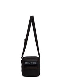 Diesel Indigo And Black Sandrigo Messenger Bag