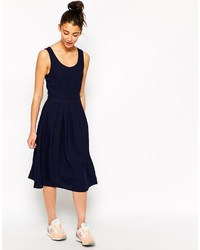 Navy midi dress original 9930091