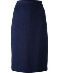 Gianfranco Ferre Vintage Jersey Pencil Skirt