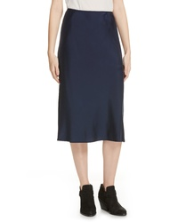 Eileen Fisher Stretch Silk Midi Skirt
