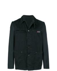 Lanvin Contrast Sleeve Jacket