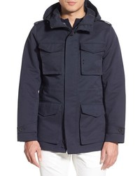 Vince Camuto Hooded Water Resistant Field Jacket