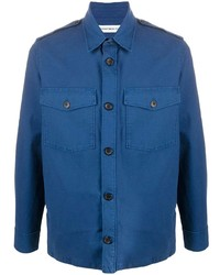 Department 5 Long Sleeve Fitted Shirt