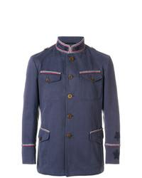 Ermanno Scervino Pipe Trim Military Jacket