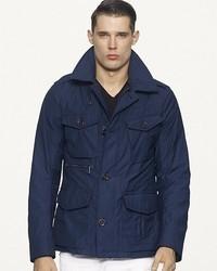 Ralph Lauren Black Label Twill Military Coat