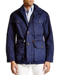Polo Ralph Lauren Waxed Cotton Combat Jacket 100% Bloomingdales