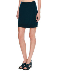 Cashmere wrap miniskirt blue medium 4106441