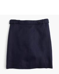 Mini skirt in bonded linen medium 515433