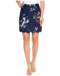 Ted Baker Staycee Tropical Oasis A Line Mini Skirt Skirt