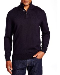 Hugo Boss Boss Edem Button Neck Sweater 100% Bloomingdales