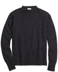 Brooks Brothers Nautical Mockneck Sweater