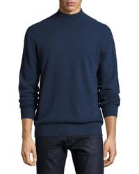 Neiman Marcus Cashmere Mock Neck Sweater
