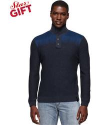 Calvin Klein Jeans Electric Felted Mockneck Sweater