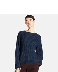 Uniqlo Mohair Blend Oversized Sweater