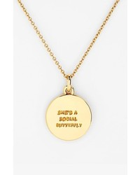kate spade new york zodiac pendant necklace where to buy