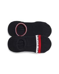 Tommy Hilfiger 2 Pack Logo Liner Socks