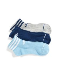 adidas Originals 3 Pack Ankle Socks