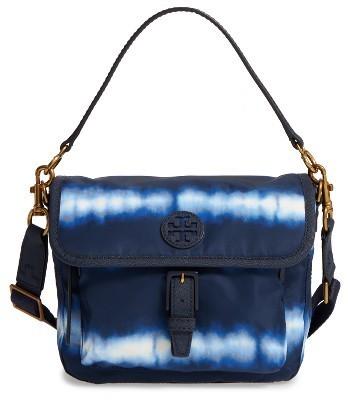 01cd037cb6203 ... Tory Burch Tie Dye Scout Nylon Crossbody Bag Blue ...
