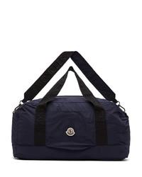 Moncler Navy Nylon Duffle Bag