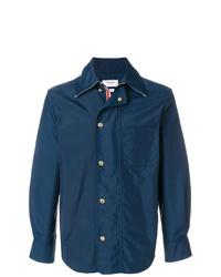 Thom Browne Nylon Tech Zip Up Overshirt