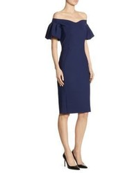 La Petite Robe di Chiara Boni Guendalina Off The Shoulder Dress