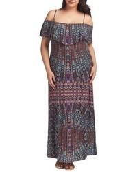 Tart Tacita Cold Shoulder Maxi Dress
