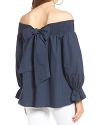 Bow off the shoulder top medium 4950726