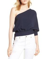 Habitual Mia One Shoulder Side Tie Top