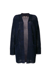Navy open cardigan original 9272903