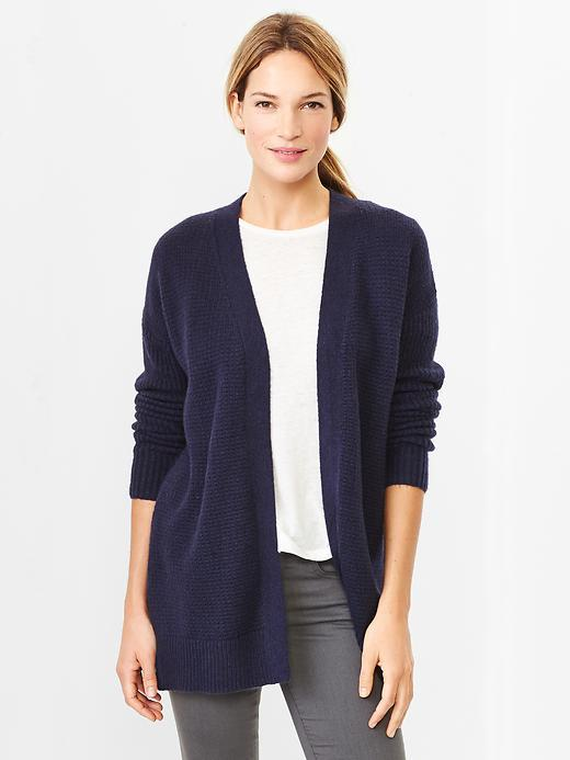 Gap Cozy Open Front Cardigan | Where to buy & how to wear