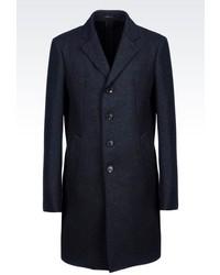 Armani Collezioni Slim Fit Coat In Wool