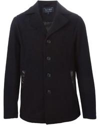 Armani Jeans Padded Back Single Breasted Coat
