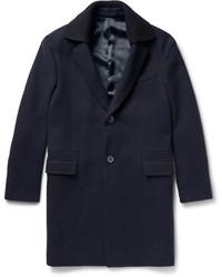 Lanvin Boiled Wool Overcoat