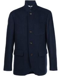 Brunello Cucinelli Cashmere Single Breasted Coat