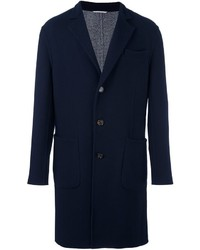 Brunello Cucinelli Single Breasted Notched Lapel Coat