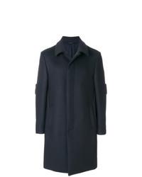 Fendi Concealed Fastening Appliqu Coat