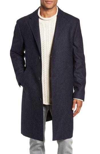 J.Crew Destination Water Resistant Tweed Topcoat