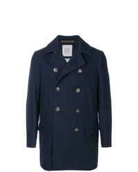 Eleventy Double Breasted Buttoned Coat