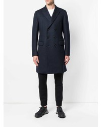 Neil Barrett Double Breasted Peacoat