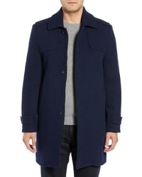 Marc New York Edmund Wool Blend Twill Car Coat