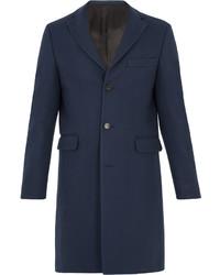Acne Studios Garret Single Breasted Wool Overcoat