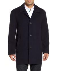 Cole Haan Italian Wool Blend Overcoat