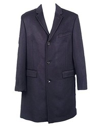 J.Crew Mercantile J Crew Crosby Topcoat In Wool Cashmere Style E0971 Navy New Size 36r