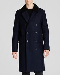 Theory Kenri Sc Voedar Double Breasted Wool Coat