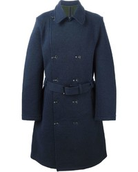 Y-3 Knitted Trench Coat